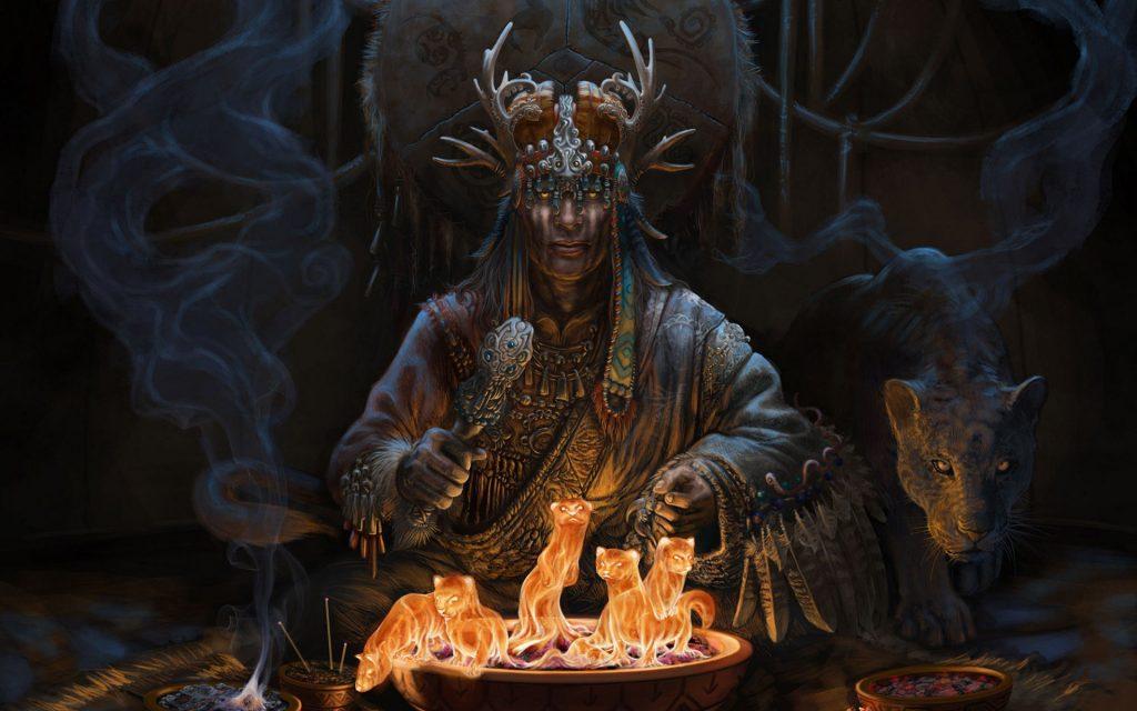 Шаманизм Работа с Духами боги Севера